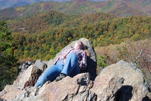 mountains fall blue ridge mountains