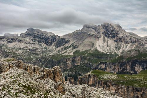 mountains rocks landscape
