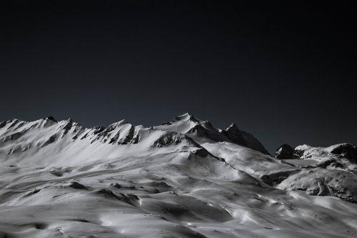 mountains snow snow mountain