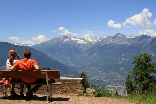 mountains landscape alpine