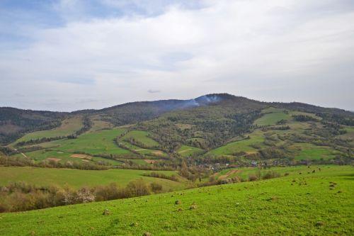 mountains the carpathians ukraine