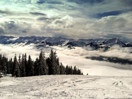 mountains kitzbühel alpine