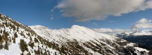 mountains alps snow