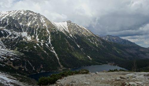 mountains tatry morskie oko