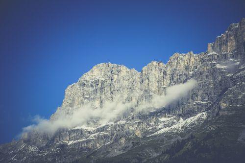 mountains chain switzerland