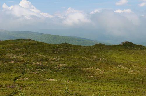 mountains landscape bieszczady