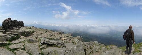 mountains babia top landscape