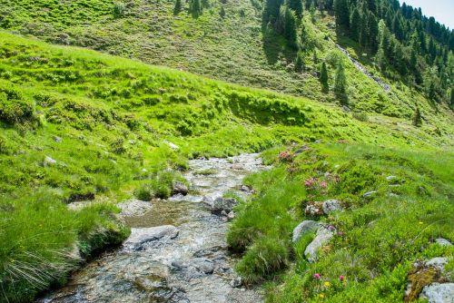 kalnai,žygiai,Bachas,gamta,kraštovaizdis,Alpių,kalnų žygiai,vanduo