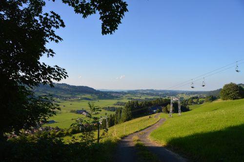 mountains allgäu sky