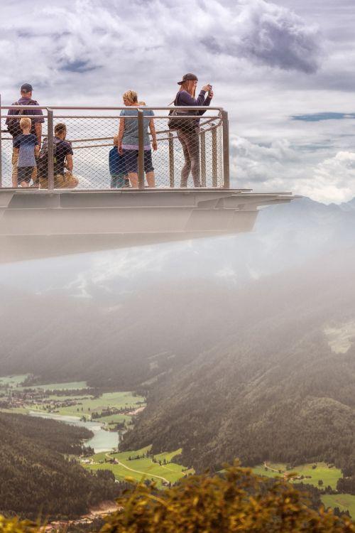 mountains austria alpine