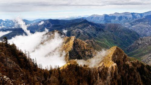 mountains landscape nature