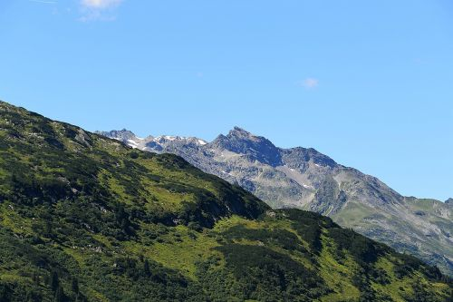 mountains panorama tyrol