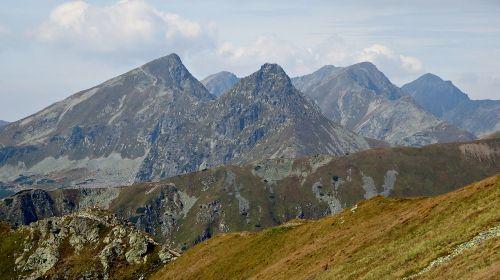 mountains tatry landscape