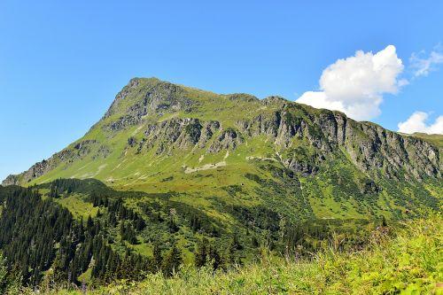 mountains almen austria