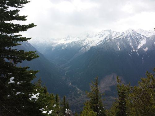 mountains outdoor wilderness