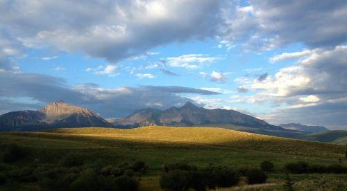 mountains sky colorado