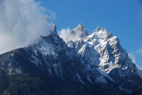 mountains range scenic
