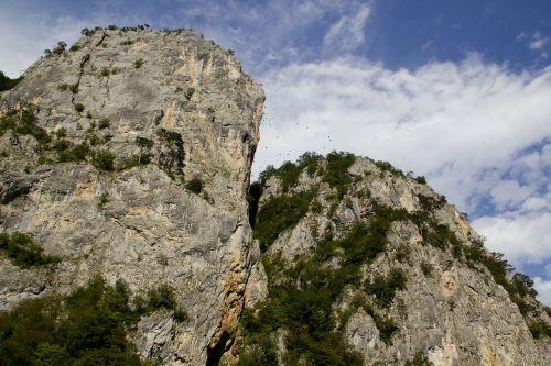 mountains serbia rocks