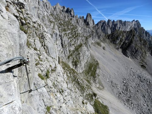 mountains rock climbing