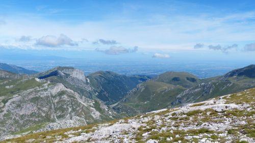 mountains po valley cima della saline