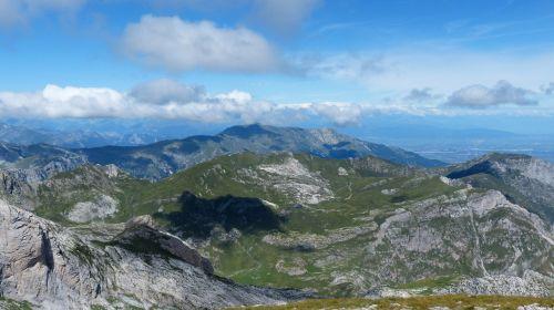 mountains cima della saline mountain