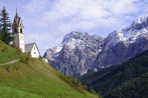 mountains dolomites rocks nature