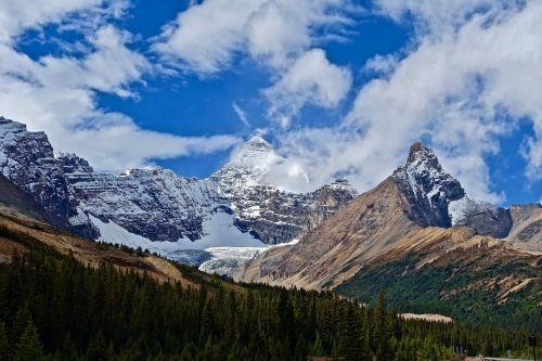 mountains landscape colourful