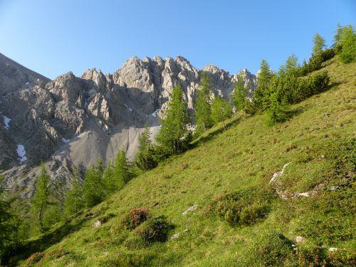 mountains lienz dolomites