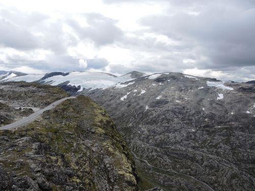 mountains karg landscape