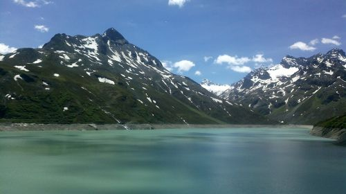 mountains lake landscape