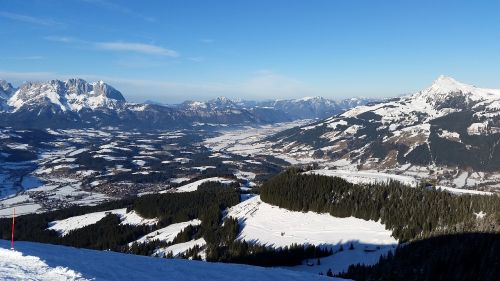 mountains alpine kitzbühel
