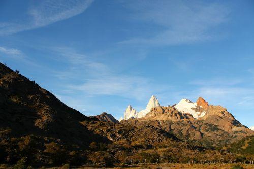 mountains snow argentina
