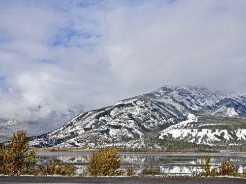 mountains snow rockies