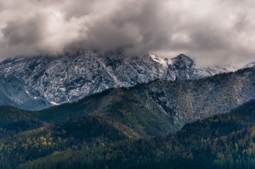 mountains tatry giewont
