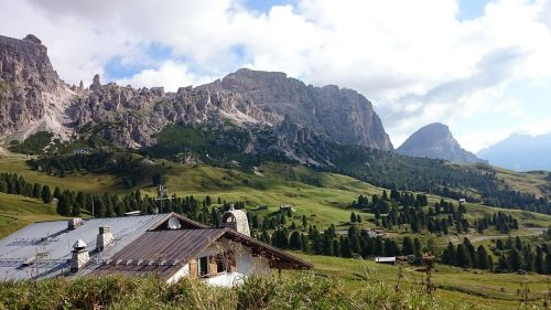 mountains south tyrol holiday