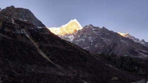 mountains himalaya outdoor