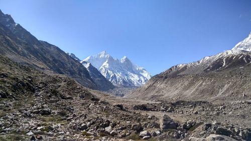 mountains himalayas ice cap