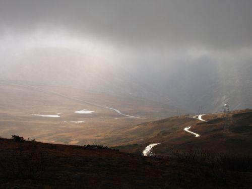 mountains mountain plateau road