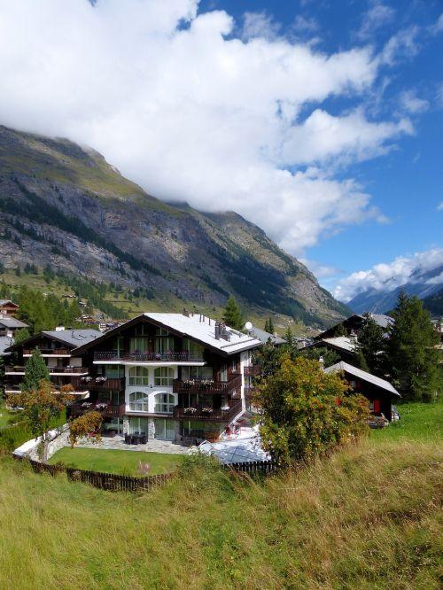 mountains switzerland zermatt