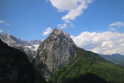 mountains travel garmisch