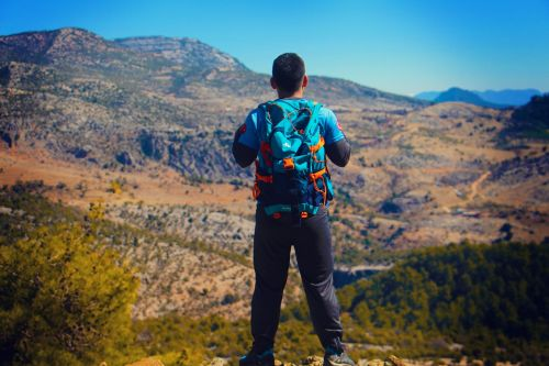 mountains hiking nature