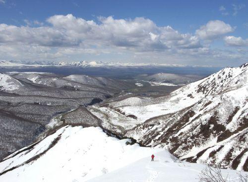 mountains ridge height