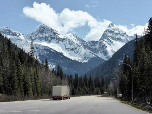 mountains snow nature