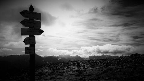 kalnai,ženklas,tatry,scenoje,juoda ir balta,kraštovaizdis,viršuje