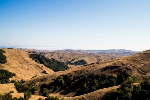 mountains california highway