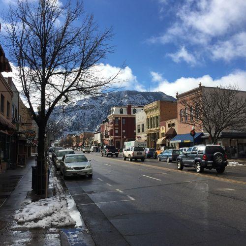 mountains colorado main street