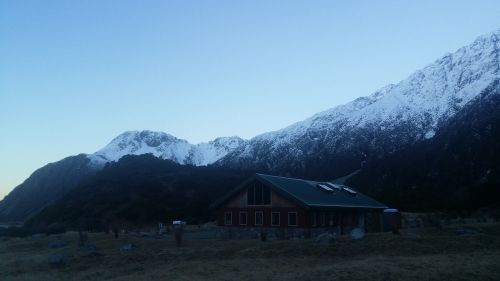 mountains snow mount cook