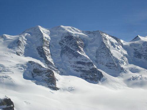 mountains alpine piz palu