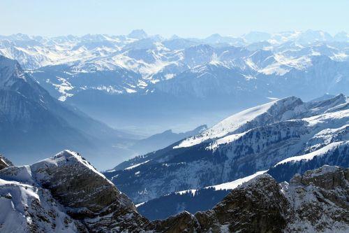 mountains summit steinig
