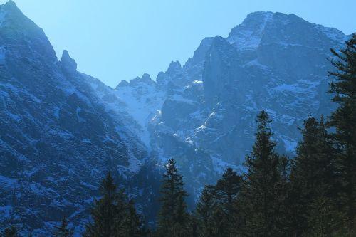 mountains tatra mountains travel
